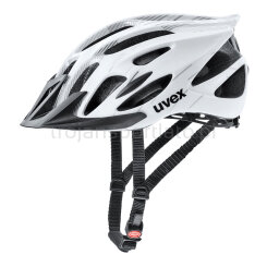 Kask rowerowy Uvex Flash White Black