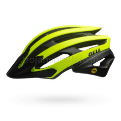 Kask rowerowy Bell Catalyst Yellow Black Mips